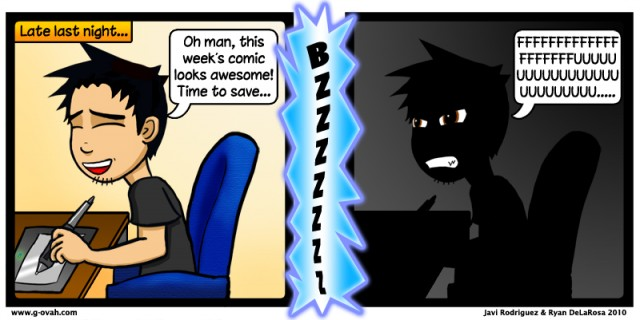 GoN Comic: That Just Happened…