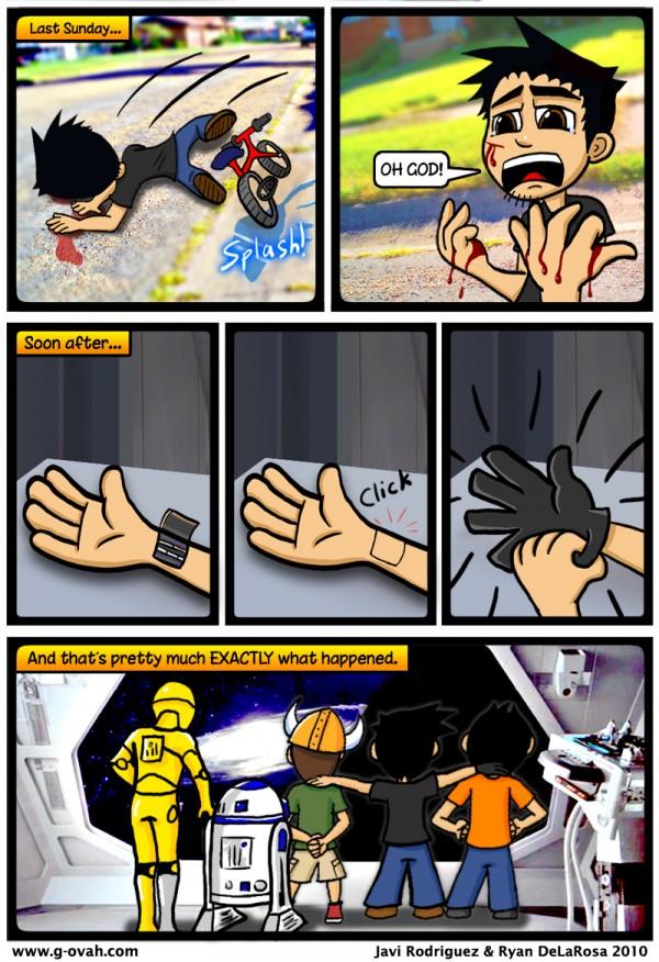 GoN Comic: True Story