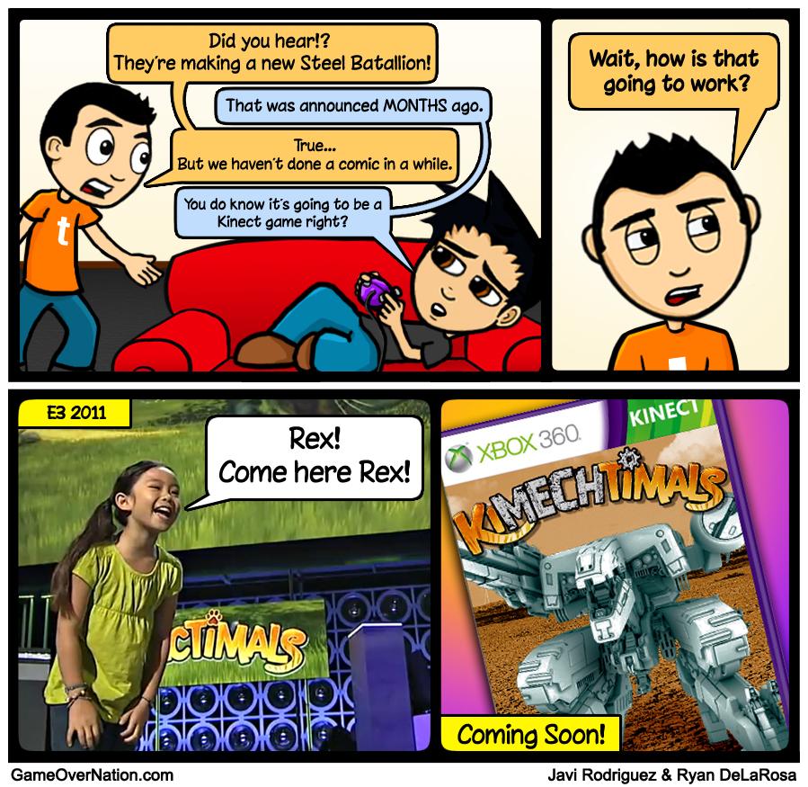 GoN Comic: KiMech'd