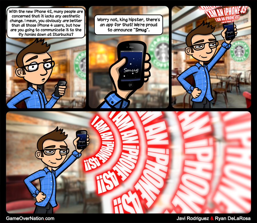 "GoN Comic: ""smart"" Phone"