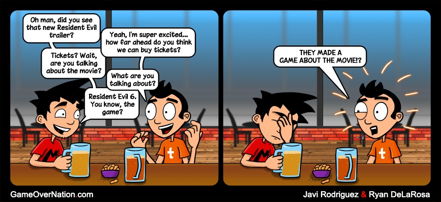 GoN Comic: They Should Really Make Those Games