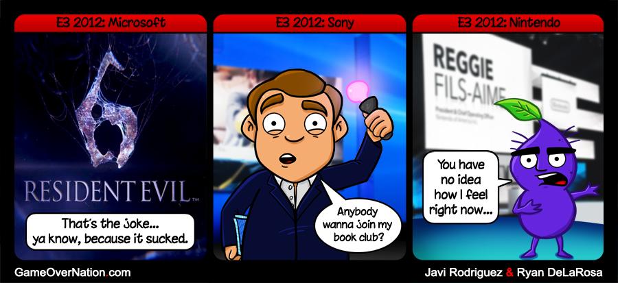 GoN Comic: E3 2012