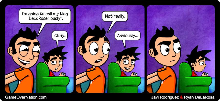 GoN Comic: Bloggers, Shmoggers